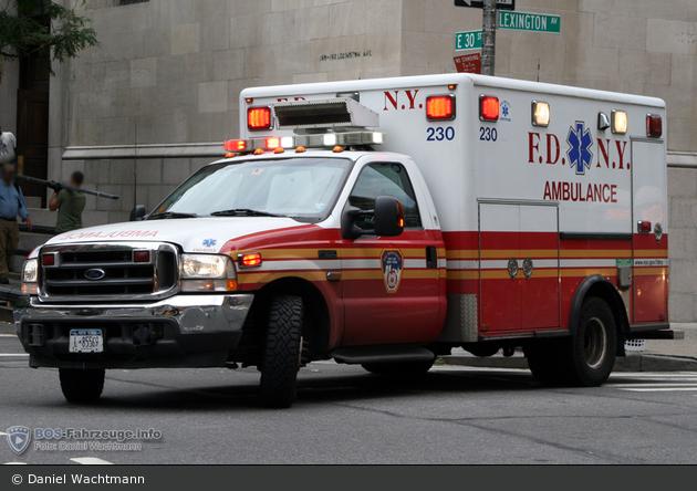FDNY - EMS - Ambulance 230 - RTW