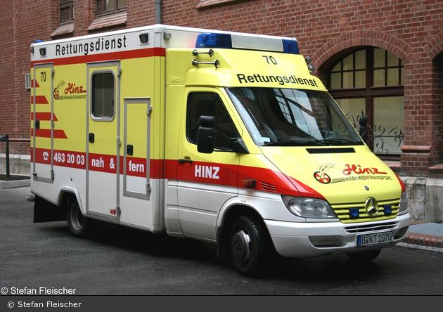 Krankentransport Hinz - MZF 70