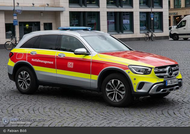 Frankfurt - Deutsche Bahn AG - Unfallhilfsfahrzeug