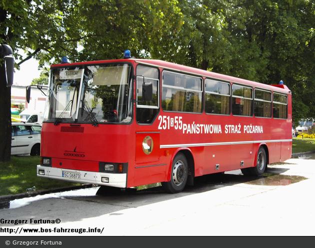 Częstochowa - CS PSP - Bus - 251S55 (a.D.)