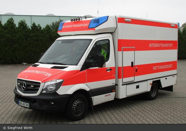 Mercedes-Benz Sprinter 519 BlueTEC - Gerken Mietservice GmbH - RTW