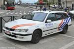 Saint-Gilles - Police Fédérale - Police des Chemins de Fer - DHuFüKw (a.D.)