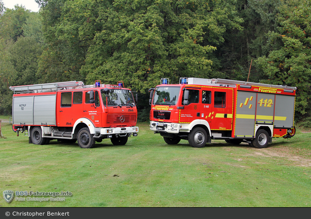 SL - FF Spiesen-Elversberg LBZ Spiesen - Generationswechsel LF16 & HLF20