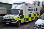 Tullamore - West Mid Ambulance Service - Mobile Sanitätsstation