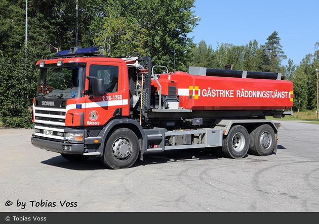 Rörberg - Gästrike RTJ - Lastväxlare - 2 26-1260