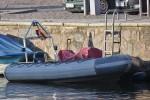 Polizei Stralsund - Schlauchboot