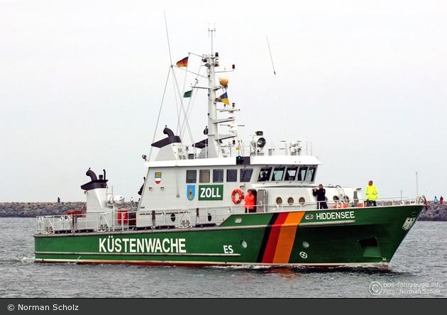 Zollboot Hiddensee - Rostock