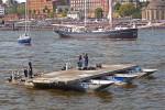HH - THW Hamburg - Schwimmpontonbrücke