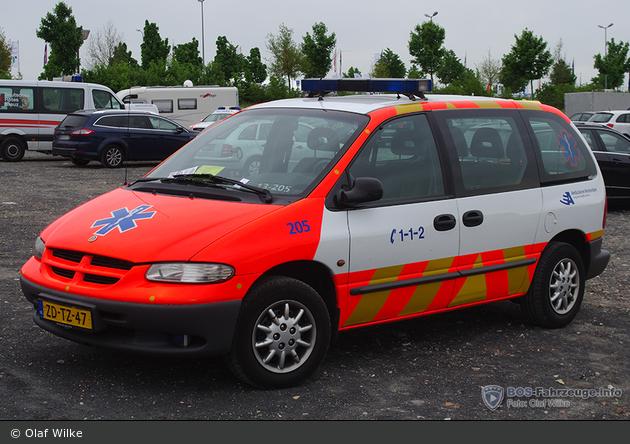 Amsterdam - Ambulance Amsterdam - KdoW - 13-205