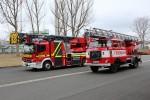 TH - FF Rudolstadt - Wachablösung Drehleiter