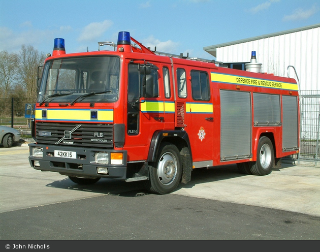 Bicester - Defence Fire & Rescue Service - TLF