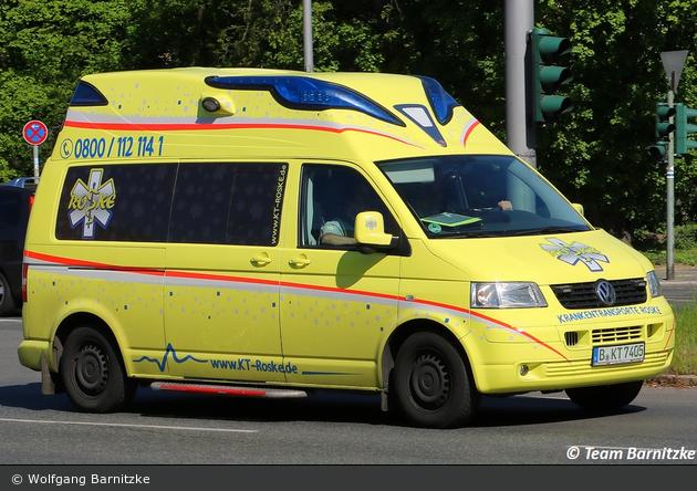 Krankentransport Roske - KTW (B-KT 7405)