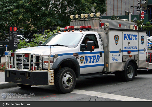 NYPD - Brooklyn - Emergency Service Unit - ESS 8 - REP 5597