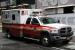 FDNY - EMS - Ambulance 084 - RTW