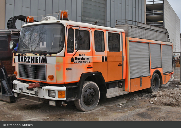 Köln - J. Harzheim - Baustellenfahrzeug