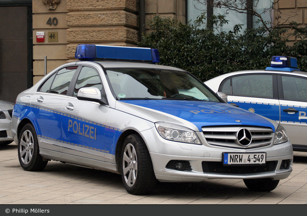 Mercedes C Klasse Polizei