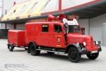 """""""Atze-Feuerwehr"""" Fahrzeug der Jugendfeuerwehr Großenhain (a.D.)"""