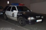 Police - Ford Escort - FuStW
