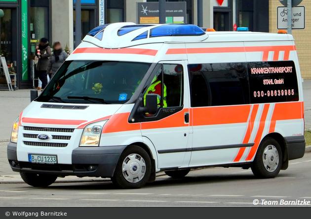 Krankentransport Stahl GmbH - KTW (B-CU 1233)
