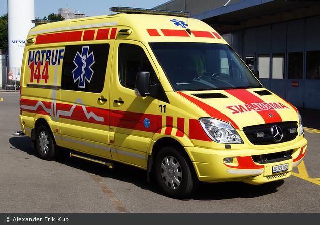 Aarau - Kantonsspital Aarau - RTW - Jura 11