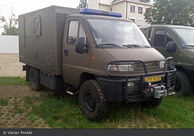 Praha - Ústřední vojenský zdravotní ústav - Mobiles Labor
