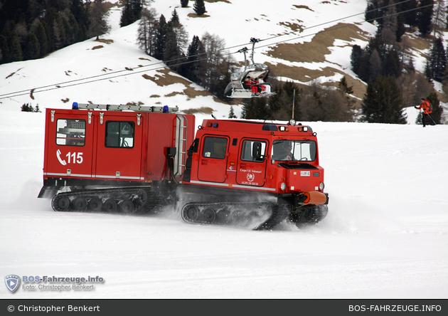 Alpe di Siusi - FF - Raupenfahrzeug