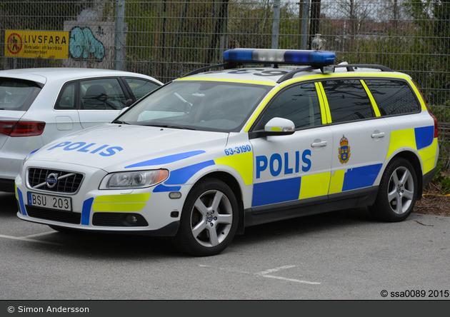 Kävlinge - Polis - FuStW - 1 63-3190