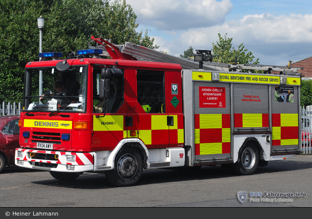 Reading - Royal Berkshire Fire and Rescue Service - PL
