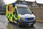 Eastleigh - South Central Ambulance Service - RTW - SA 637