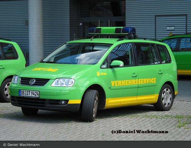 Oberhausen - Stadtwerke Oberhausen AG - Unfallhilfsfahrzeug
