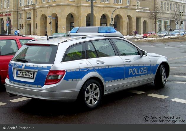 Magdeburg - MB C-Klasse - FuStW