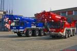 RP - Kräne BF Mannheim & THW Ludwigshafen