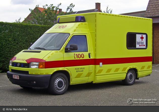 Berlaar - Rode Kruis Vlaanderen - RTW (alt) (a.D.)