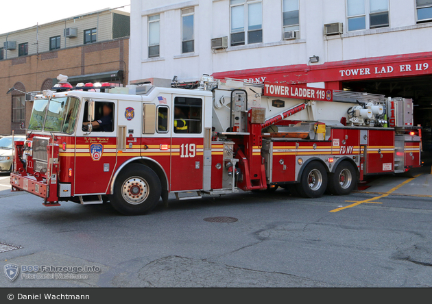 FDNY - Brooklyn - Ladder 119 - TM