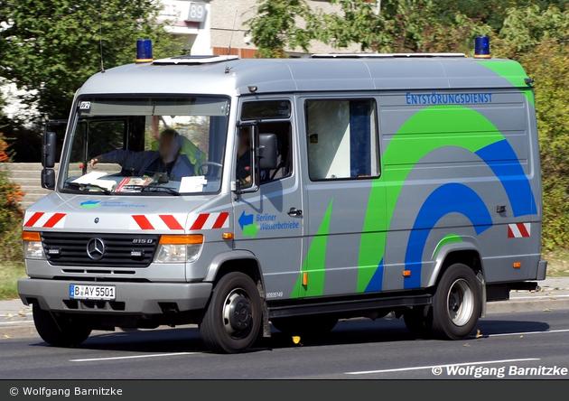 Berlin - Berliner Wasserbetriebe - Entstörungsdienst (B-AY 5501)