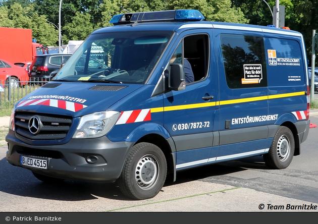 Berlin - Netzgesellschaft Berlin-Brandenburg - Entstörungsdienst (B-ED 4515)