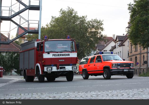BW - FFW Tübingen - VRW und RW