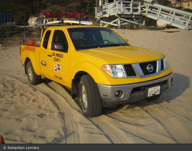 Los Angeles - LACoFD - Lifeguard Patrol