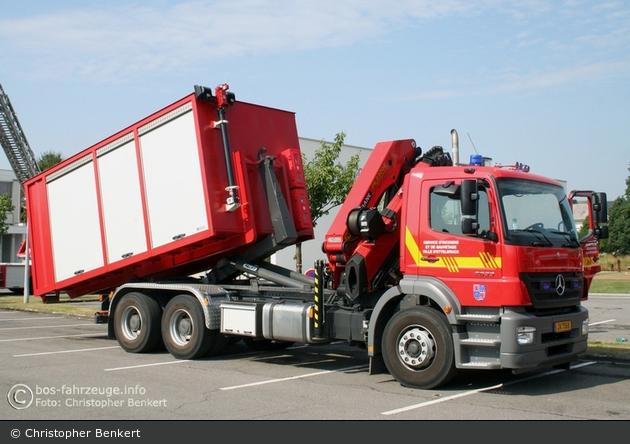 Ettelbrück - Service d'Incendie et de Sauvetage - WLF-Kran