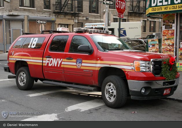 FDNY - Bronx - Battalion 18 - ELW