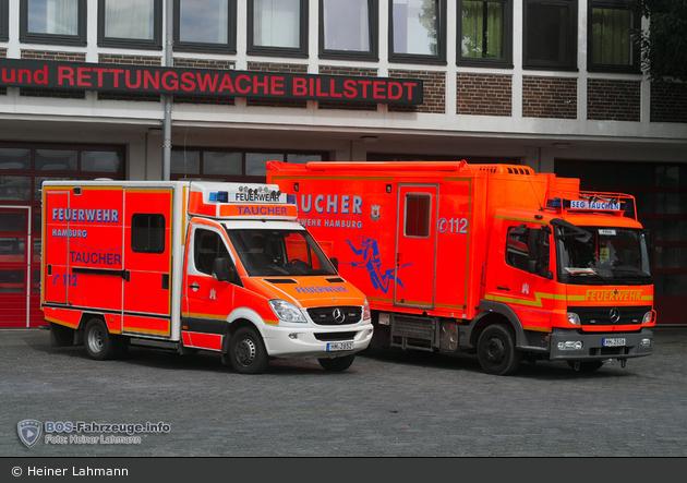 HH - BF Hamburg - F 25 Billstedt - GW-Taucher (07/2016)