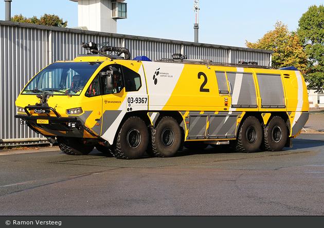 Tynaarlo - Luchthavenbrandweer Groningen Airport Eelde - FLF - 03-9367
