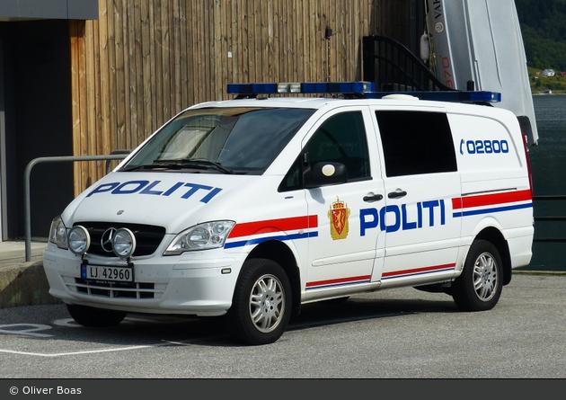Åndalsnes - Politi - FuStW