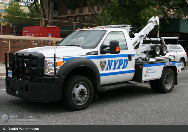 NYPD - Brooklyn - Traffic Enforcement District - Tow-Truck 6773
