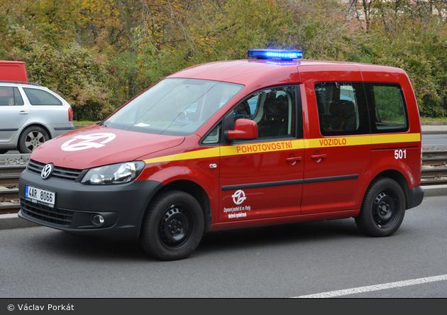 Praha - DP - PKW 501