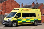 Woodhall Spa - Lincolnshire Fire & Rescue - Amb