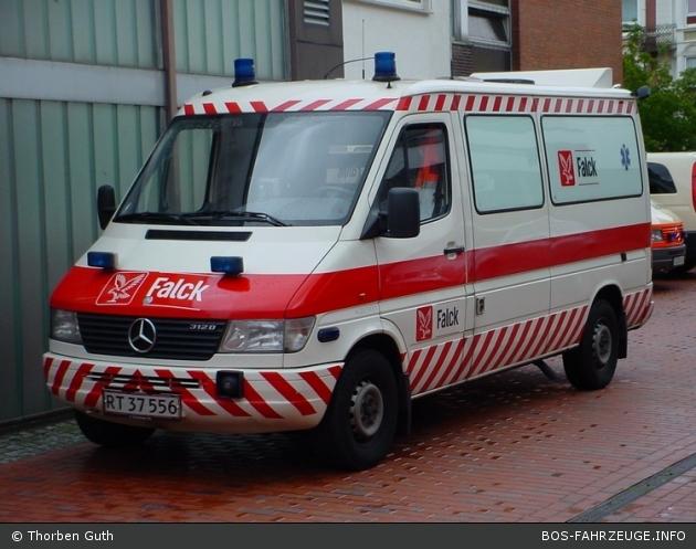 Aabenraa - Falck - RTW - 4-50/3481 (a.D.)