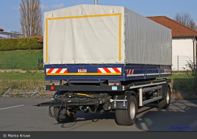 BP56-11 - Hüffermann HPR 18.70 - Container-Anhänger