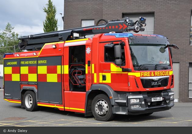 Blackburn - Lancashire Fire and Rescue Service - WrT