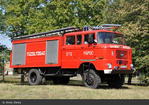 Pápoc - Tűzoltóság - TLF